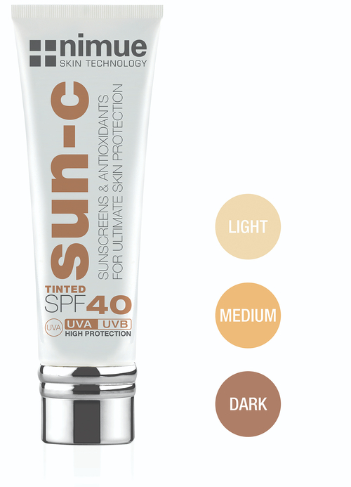 Nimue Retail 60ml SUN C Tinted SPF 40 w500